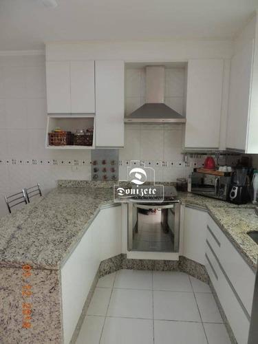 Sobrado Com 2 Dormitórios À Venda, 78 M² Por R$ 425.000,00 - Jardim Las Vegas - Santo André/sp - So2899