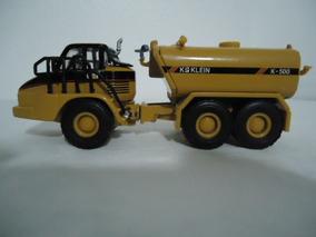 Miniatura Caminhão Caterpillar Cat 730 K500 - Norscot 1:87