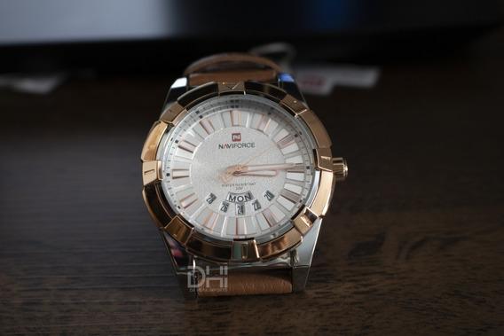 Relógio Masculino - Naviforce 9118 - Original, Prova D