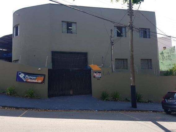 Barracão Para Alugar, 200 M² Por R$ 0,01/mês - Jardim Maria Buchi Modeneis - Limeira/sp - Ba0096