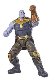 Vingadores 6 Figuras Marvel Legends Baf Thanos - Hasbro