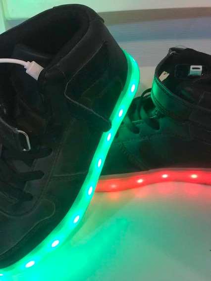 Zapatillas Con Luces Led Talle 33