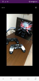 Ps4 500gb 2 Controles + 2 Jogos