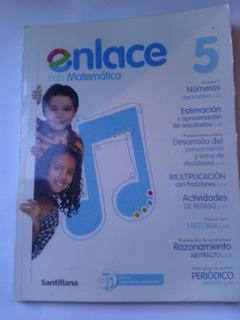 Libro Enlace 5 Matematicas