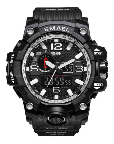 Smael Relógios Esporte Digital Relógios Led