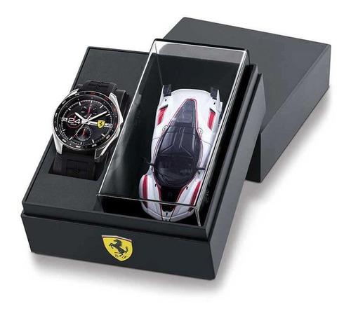 Imagen 1 de 5 de Reloj Ferrari Caballero Set Color Negro 0870045 - S007