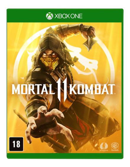 Jogo Xbox One - Mortal Kombat 11 - Warner