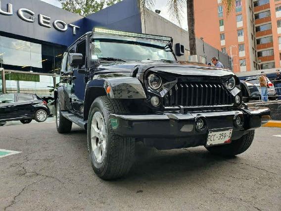 Jeep Wrangler 2015 3p Sahara V6/3.6 Aut