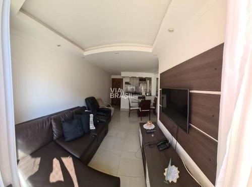 Imagem 1 de 12 de Apartamento À Venda No Bairro Assunção Mobiliado - 56m²  R$300.000,00 - 1090