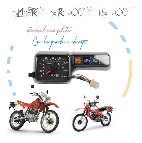 Painel Completo Do Velocimetro Honda Xlr 125 Xr 200 Nx 200
