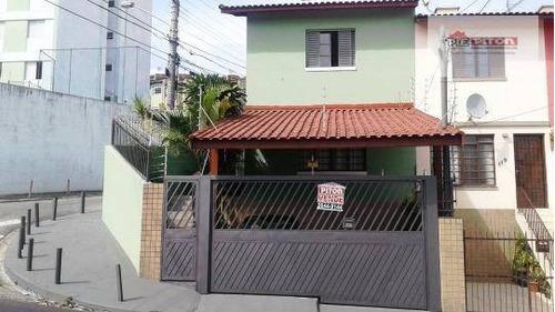 Sobrado Com 4 Dormitórios À Venda, 106 M² Por R$ 650.000,00 - Cangaíba - São Paulo/sp - So1486