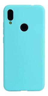 Capa Case Silicone Fosco Xiaomi Redmi Note 8 Tela 6.3