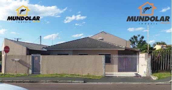 Casa Com 3 Dormitórios À Venda, 69 M² Por R$ 250.000 - Passauna - Araucária/pr - Ca1145