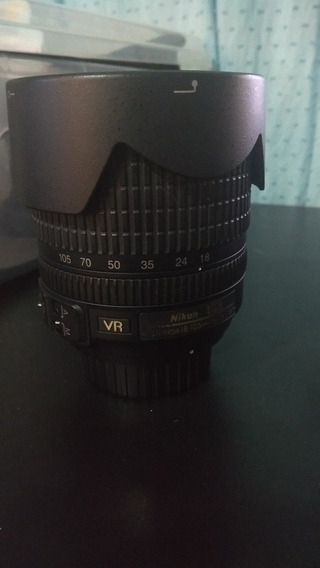Lente Nikon 18-105 F 3.5-5.6 Dx + Filtro Close-up +1+2+4 +10