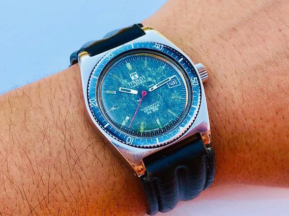 Relógio De Pulso Militar Suíço Tissot Visodate Seastar Pr516