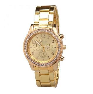 Reloj Metal Diamantes