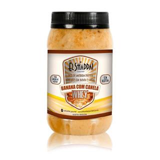 Oferta - Pasta De Amendoim Banana Com Canela 500g El Shaddai