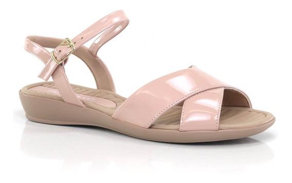 Sandália Piccadilly Com Salto Baixo - Vanda Calçados