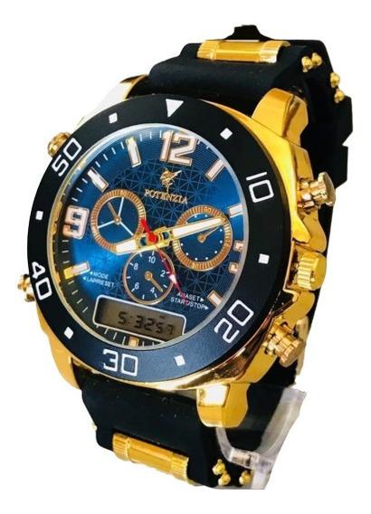 Relógio De Pulso Digital Masculino Social Esportivo