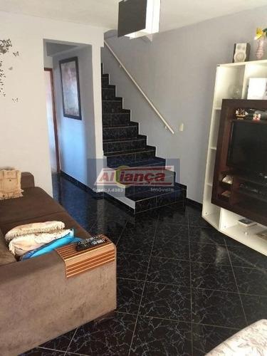 Sobrado Residencial À Venda, Jardim Renee, Guarulhos. - Cód. So1225 - Ai6348