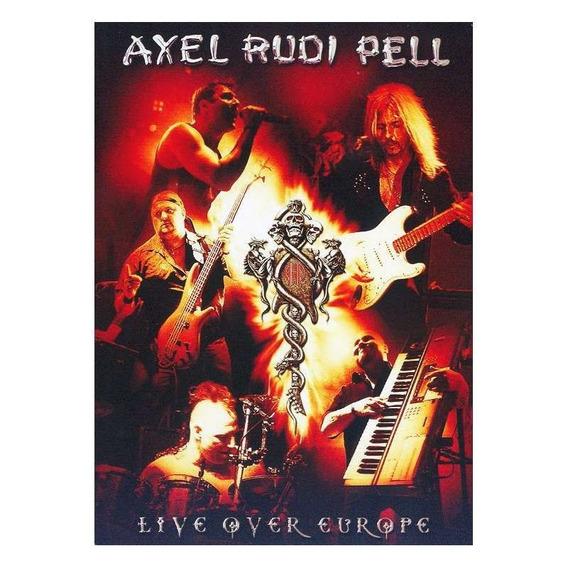 Dvd Doble Axel Rudi Pell Live Over Europe Musicanoba