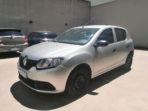 Renault Nuevo Sandero Authentique Sedan 5 Puertas 2017 Gris