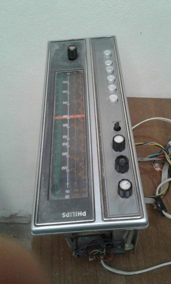 Rádio Vitrola Philips Para Peças.