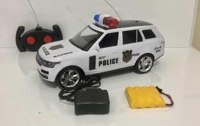 Carrinho Controle Remoto Polícia Recarregavel Pick-up