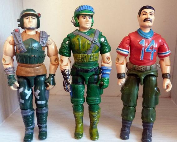 Comandos Ação Trio Estrela Força Boneco Gijoe Original 80s V