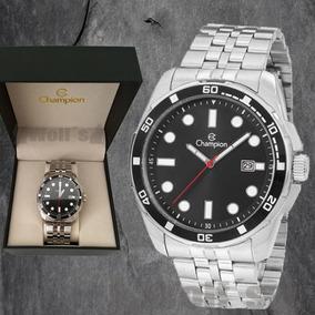 Relógio Masculino Prateado Original