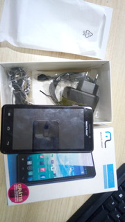 Smartphone Multilaser Ms5 4gb Preto C/ Capa Amarela P3272