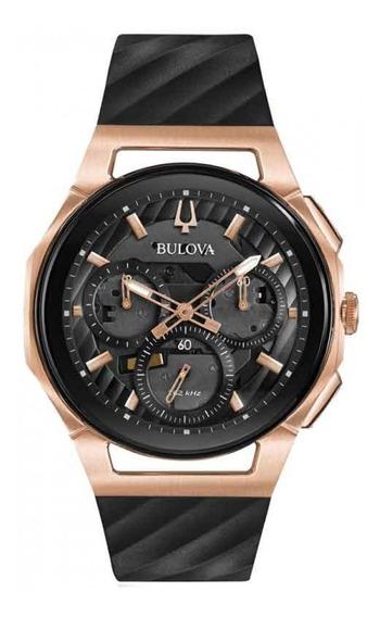 Relógio Bulova Masculino Curv Cronógrafo 98a185