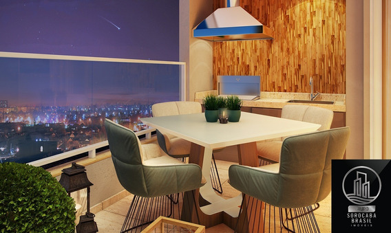 Oportunidade Apartamento Com 2 Dormitórios À Venda, 72 M² Por R$ 345.030 - Condomínio Residencial La Vista Moncayo - Sorocaba/sp, Valor Promocional . - Ap00201 - 67650522