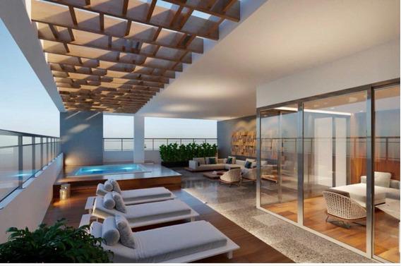 Penthouse Lujoso En Venta En Bella Vista 2hab- Area Social