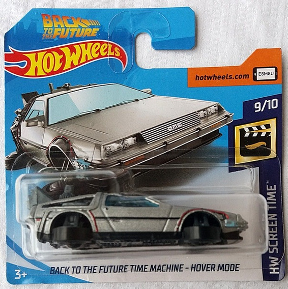 Back To The Future Time Machine Hover Mode Hw 2019 108/250