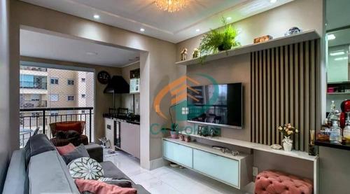 Apartamento À Venda, 68 M² Por R$ 585.000,00 - Bosque Maia - Guarulhos/sp - Ap1549