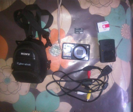 Camara Sony Cybershot 12.1 + Forro Original + Memoria Y Mas