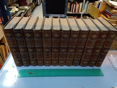 12 Tomos Historia Del Consulado Y Del Imperio - Thiers 1859
