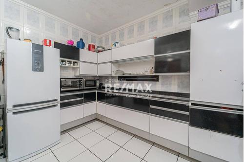 Casa Espaçosa Com 3 Dormitórios E 2 Vagas, 62 M² Por R$ 270.000 - Jardim Barro Branco - Cotia/sp - Ca0597