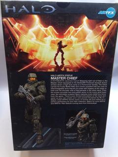 Figura Master Chief Jefe Maestro De Artfx Halo 4 Edition