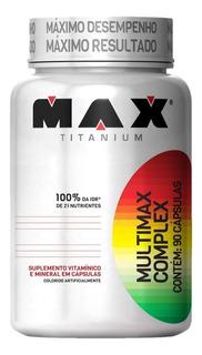 Multimax Complex 90 Cáps Max Titanium
