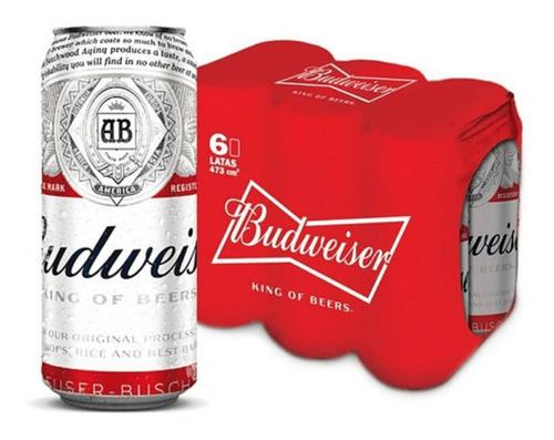 Cerveza Budweiser X473 Pack X24
