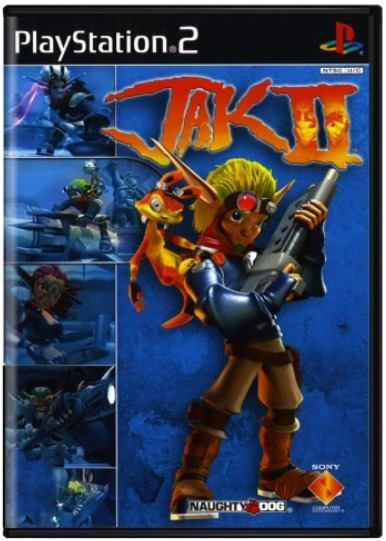 Jak Ii Jak 2 Original Playstation 2 Ps2