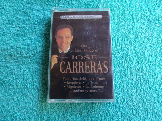 José Carreras / The Golden Voice Of - Fita K7 - 1995/canada
