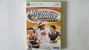 Virtual Tennis 2009 - Xbox 360 - Original - Mídia Física