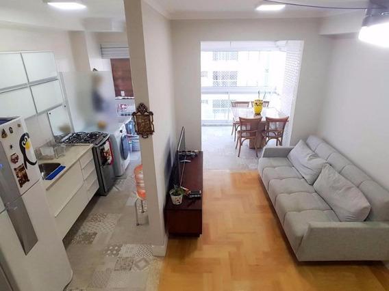 Apartamento Em Ponta Da Praia, Santos/sp De 48m² 1 Quartos À Venda Por R$ 379.900,00 - Ap350145