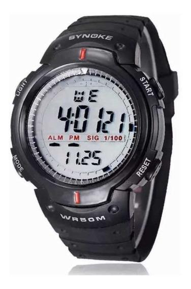Relógio Esportivo Synoke 61576 A Prova D Água Promoção