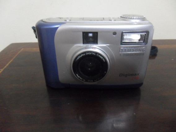 Samsung Digimax 130 1.3mp Digital Camera - Funcionando