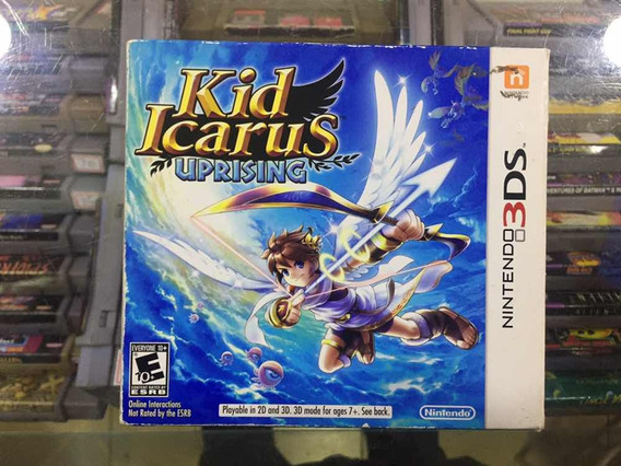 Kid Icarus Uprising Original Completo Nintendo 3ds