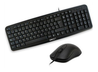 Teclado Y Mouse Onset Usb Tc-400-classic Gfx